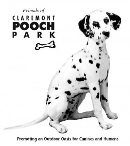 T-shirt design for the new Claremont POOCH Park group