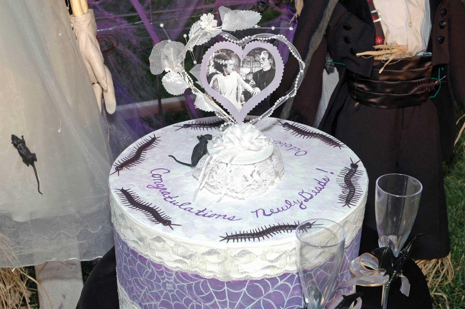 Yummy enough to eat! Frakenstein's custom cake.
