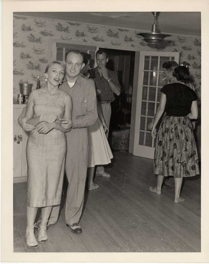 The Squires lived in a big house in New Jersey. Pictures how that Ken was quite the ladies' man.