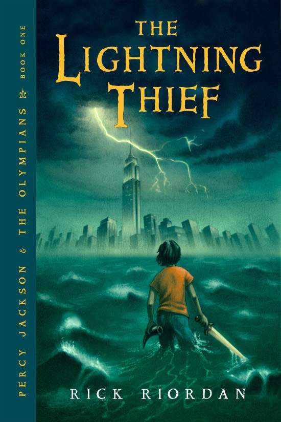 Lightening Thief, the first book in the Percy Jackson series