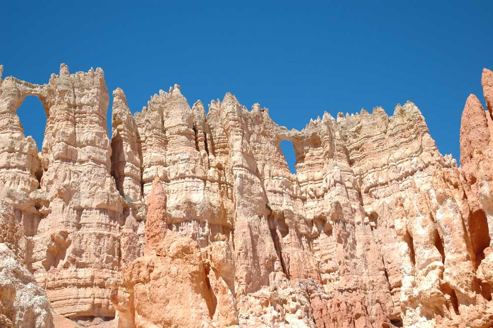 Tall hoodoos make you think of a higher power.