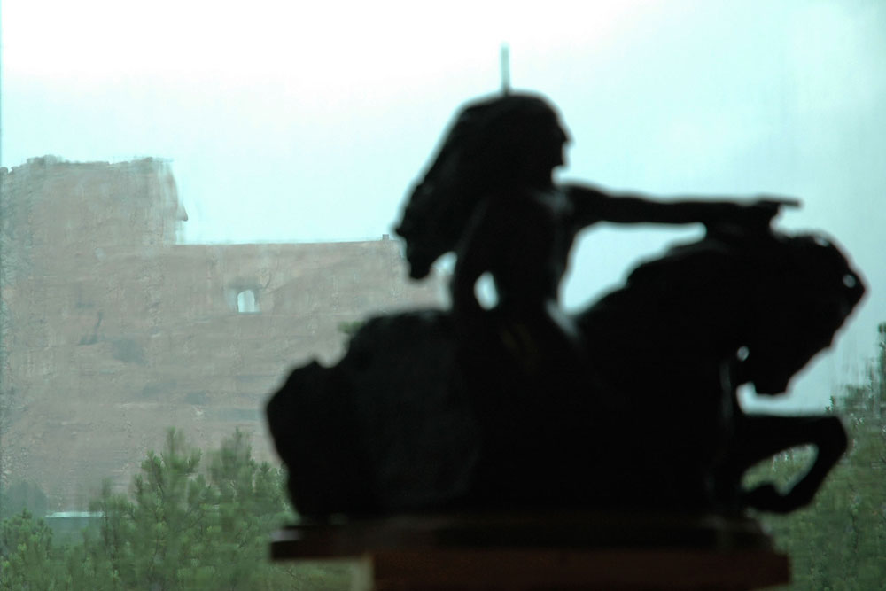 crazy horse bronze model 2
