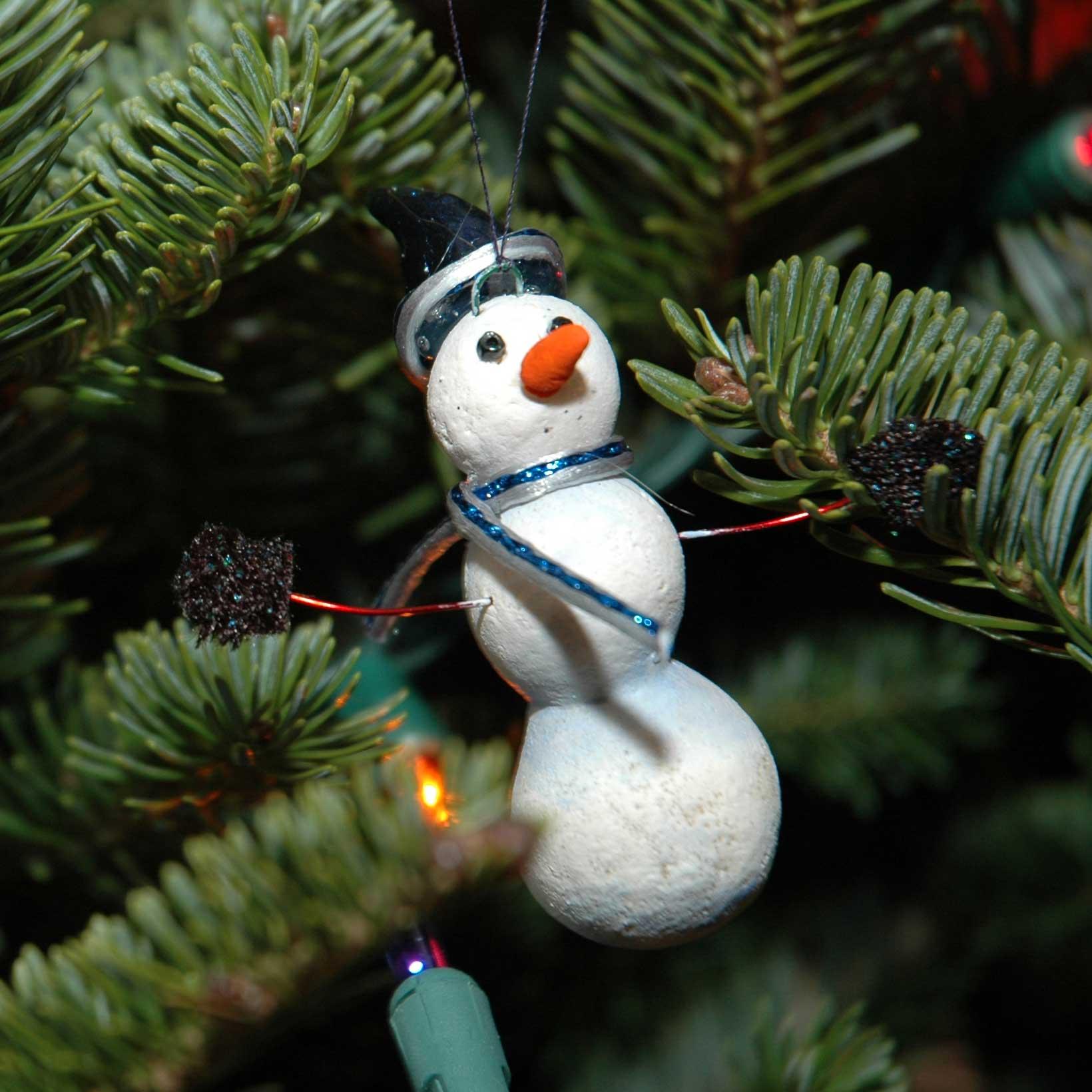 Snowman I made.