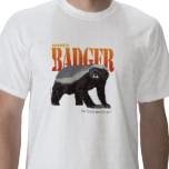 honey badger shirt